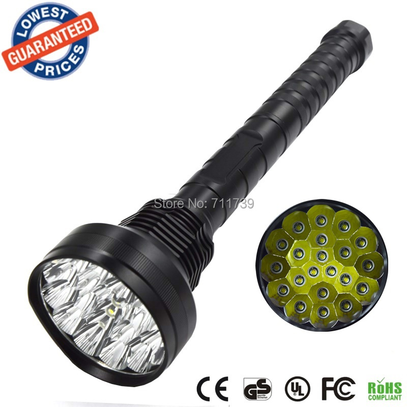 AloneFire HF21 Powerful 21T6 Super Bright 21000LM 21x CREE XMLT6 LED Flashlight Torch Tactical Hunting