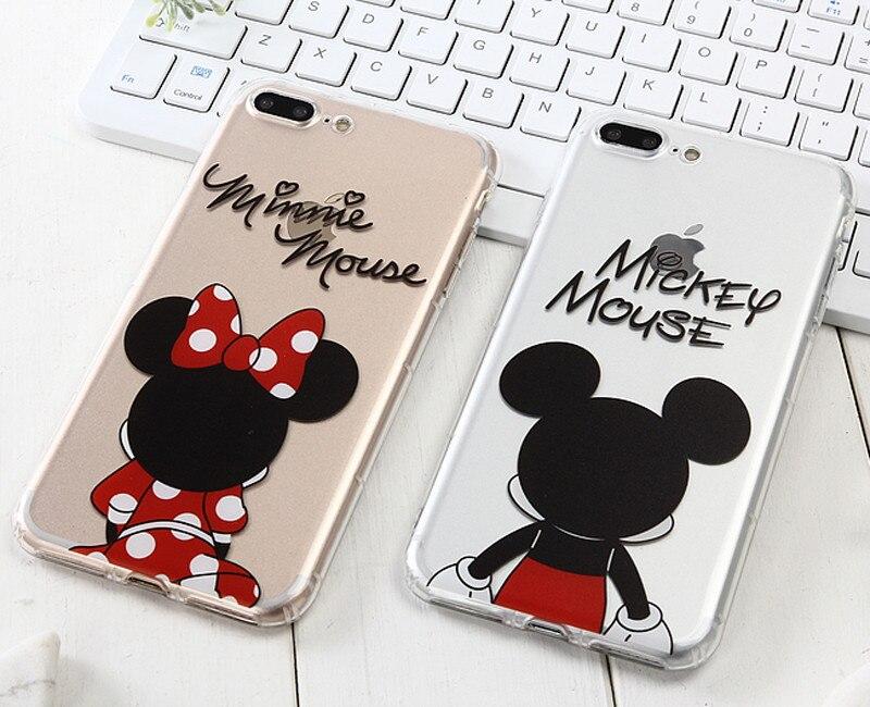 2 coque iphone 6 mickey minnie
