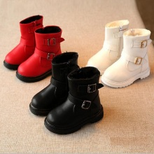New winter children shoe baby girl snow boots  girl winter boots  warm shoes slipproof waterproof  846