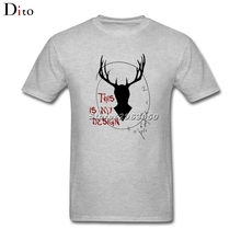Hannibal – This is my des T Shirt Men's Designer Custom Short Sleeve Boyfriend's 3XL Team  T Shirt