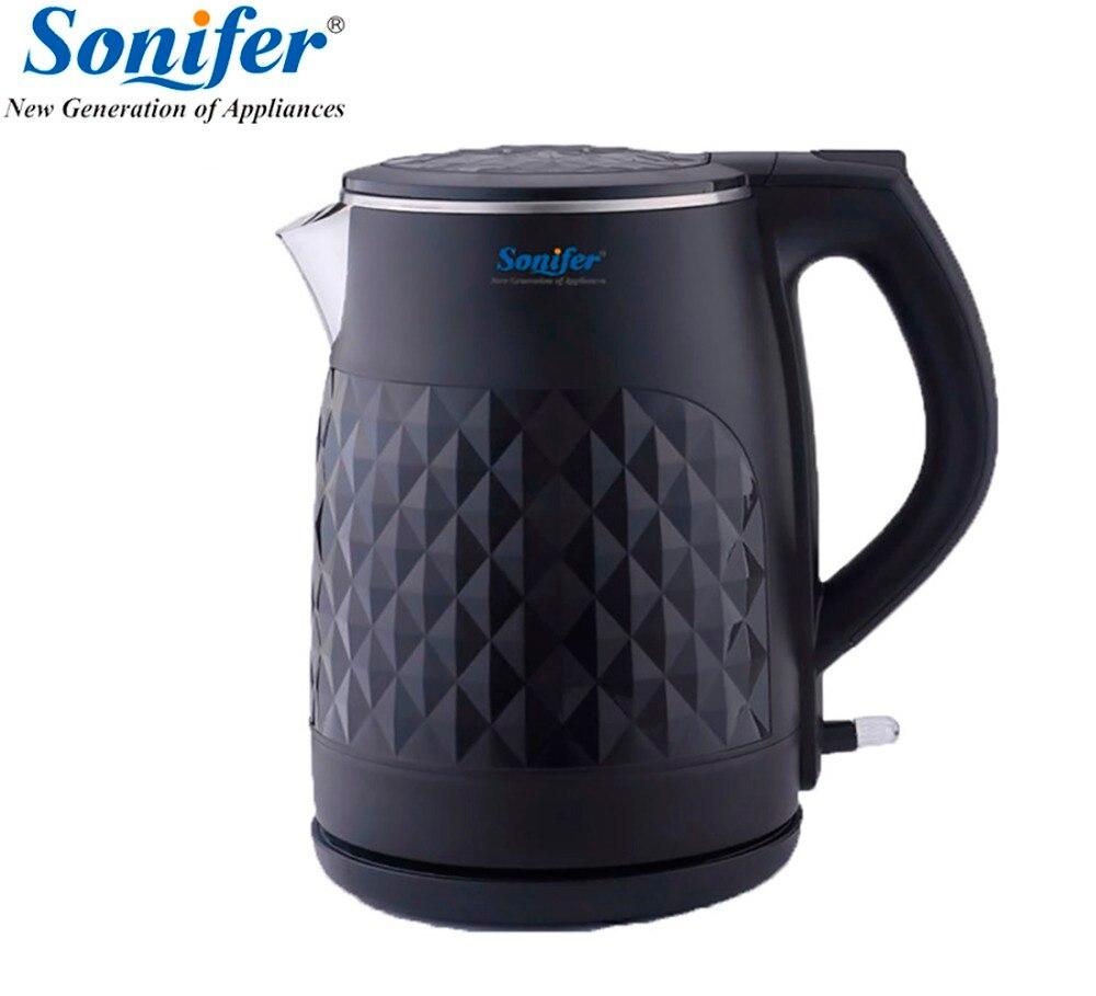 1,8 LOriginal 304 нержавеющая сталь Электрический чайник бытовой Быстрый нагрев Электрический чайник Sonifer