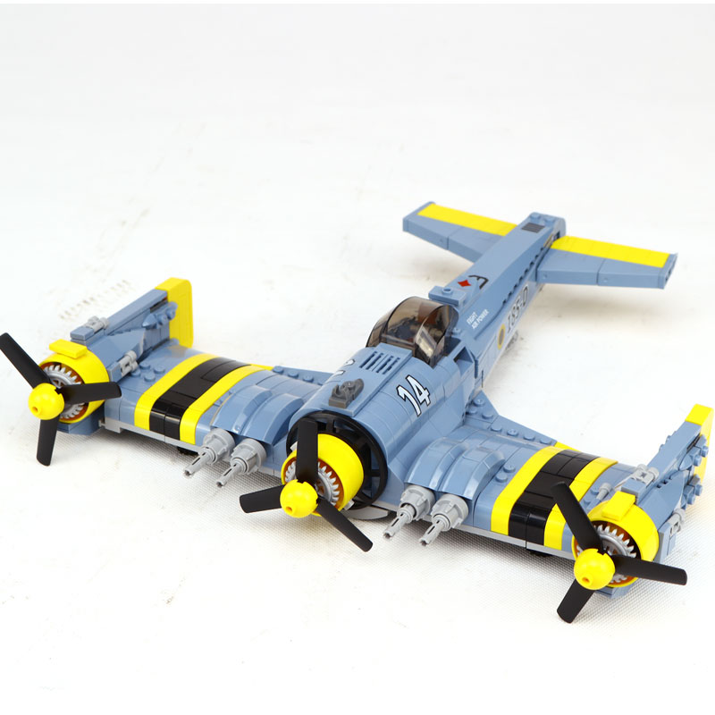 New Lepin 22021 572PCS Technical Series The Beautiful Science Fiction Fighting Aircraft Set Building Blocks Bricks Toys Model new lp2k series contactor lp2k06015 lp2k06015md lp2 k06015md 220v dc