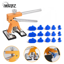 WHDZ PDR Tools Kit Professional Hand Tools Set Dent Lifter Car Paintless Dent Repair Tools Set Repair Dent Puller Glue Tabs kit whdz pdr tools paintless dent repair tools car hail damage repair tool hot melt glue sticks glue gun puller tabs kit