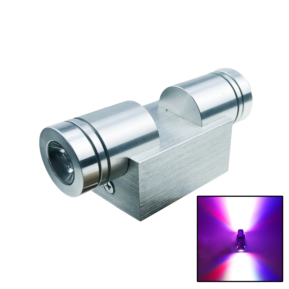2W/6W LED Wall light Modern Aluminum lighting fixture wall scones for KTV decoration bedroom living room indoor wall lamps DA