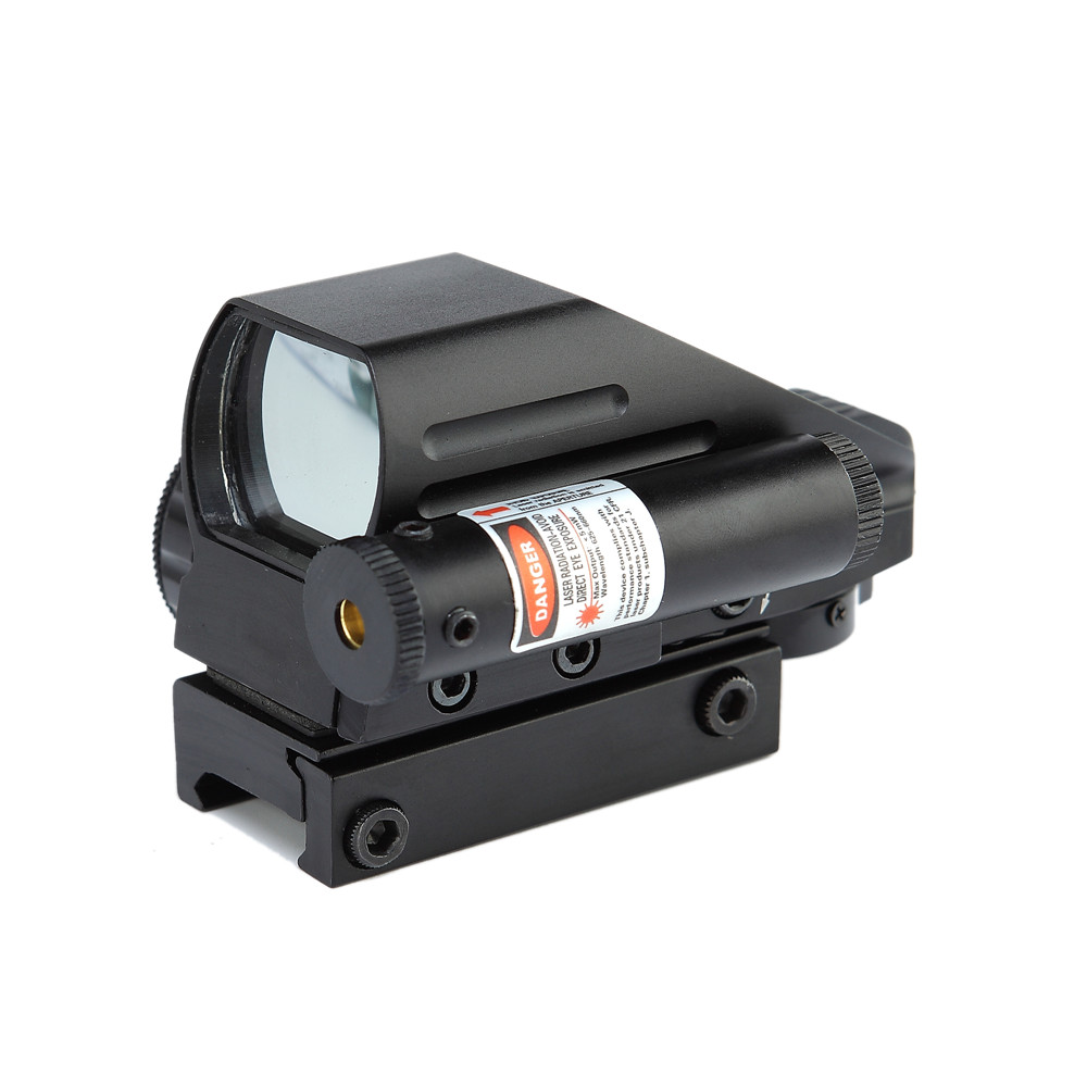 Green Red Dot Sight Reflex Scope 20mm Hunting Tactical AK Holographic 1x22x33 Reflex Red Dot Sight