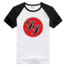FOR Foo Fighters short sleeve casual Men