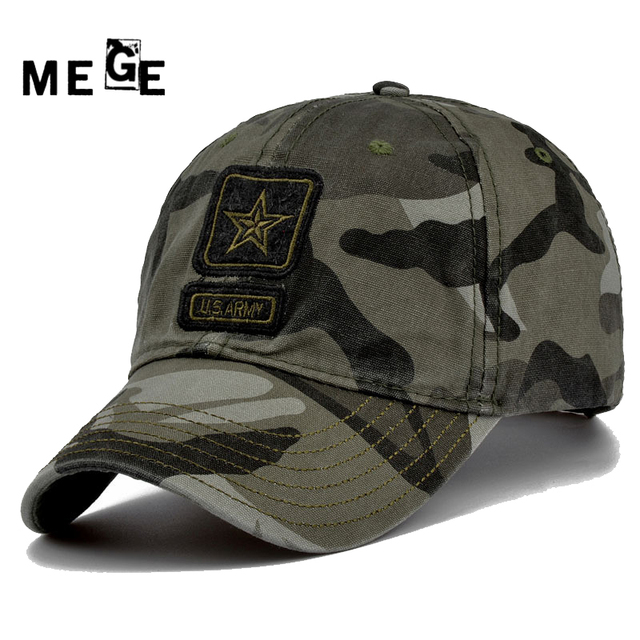 b431eb03d2 MEGE Unisex Tactical Outdoor Fishing Hat Camcouflage Sport Hunting Hiking  cap