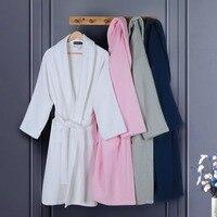 Cotton Barhrobe Men Plus Size XL Brand Toweling Terry Pajamas Women Winter Thicken White Men Bath