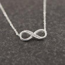 """Infinity"" Pedant Necklace"