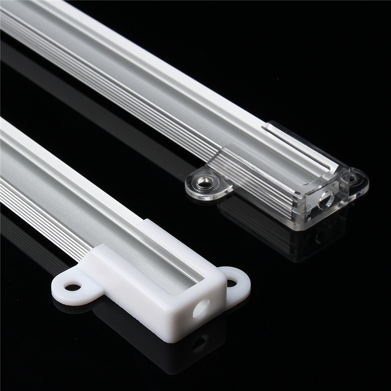 Smuxi 50cm XH-058 Aluminium LED Bar Light Channel Holder For LED Strip Light Bar Under Cabinet Lamp LED Bar Lights