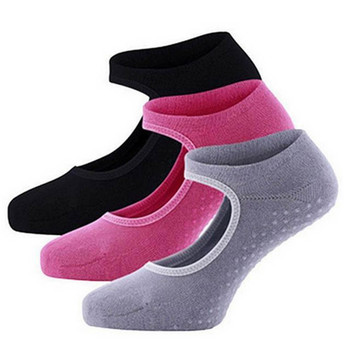 1Pair Sports Socks Good Flexibility Breathable Cotton Yoga Socks for Balle Dance Fitness Sportswear Accessories size for 34-39