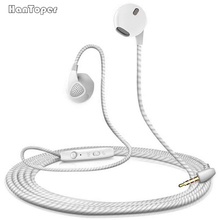 High Quality Stereo Earphone Headphone For iPhone 6 6S With Microphone auricuares For apple Xiaomi sony