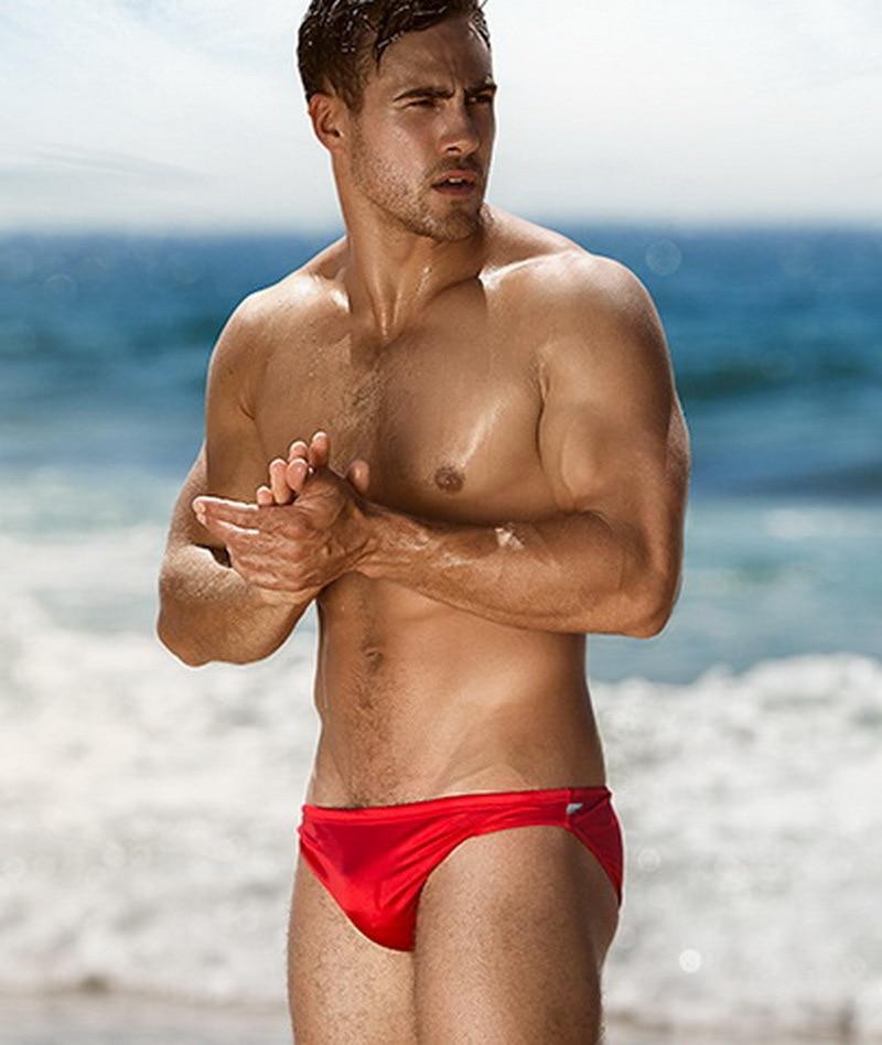 Buy Sexy Swim Briefs Men's Swimming Trunks Men's Swimsuits Spa Pool Beach Low Waist Swimming Gay Briefs Swimwear Boxers Summer