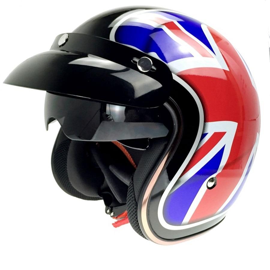 Motorcycle Half Helmets With Flip Down Sun Visor Ash Cycles