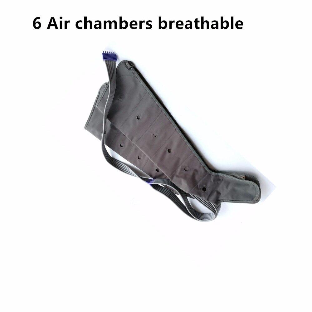 空気圧マッサージ accesory 6 室電動エアー圧縮マッサージ通気性の脚アーム腰ため血液循環  グループ上の 美容 & 健康 からの マッサージ & リラクゼーション の中 1