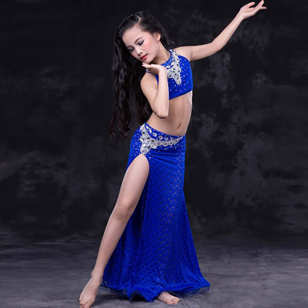 f1edb3575 Big Sale Belly Dance Costumes Girls Oriental Bellydance Costume Kids ...