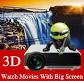 Hot Selling Full HD LED Video Projector with 200W LED Lamp High Brightness 4000lumens,Support HDMI+USB+TV