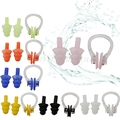 Brand New Waterproof Soft Silicone Swimming Set Soft Nose Clip + Ear Plug Earplug Tool