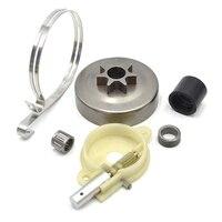Clutch Drum Needle Bearing Sleeve Intake Manifold Oil Pump Worm Brake Band Kit For HUSQVARNA 36