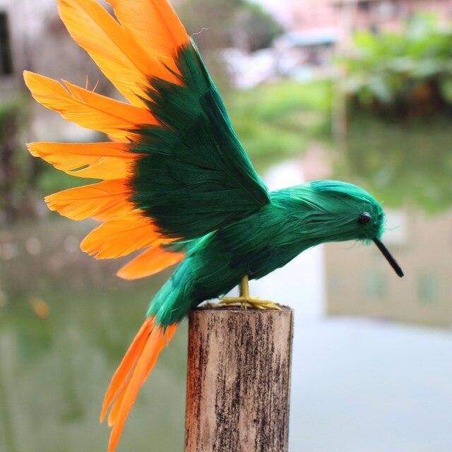 Accessoires oiseaux jardin for Oiseaux artificiels de decoration