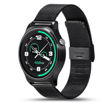 Latest Bluetooth four.zero Sensible Watch GW01 IPS Spherical Display Life Waterproof Coronary heart Charge Sports activities Wristband Watch For Android IOS Telephones