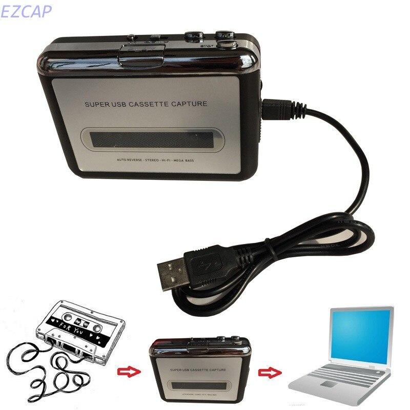 převést mix z vav do mp3 - Cassette Tape CD Convert to MP3 WAV ,Convert Cassette To USB Audio Captuer Walkman Music Player Free shipping