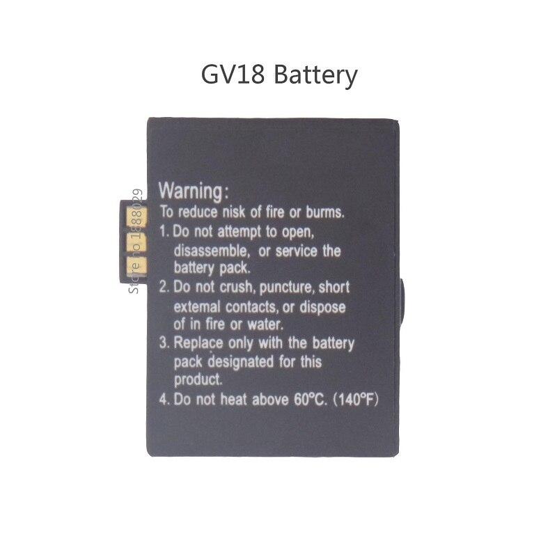 Marke Neue Ersatz Batterie für Aplus GV18 Smart Uhr, 3,7 V 550 mAh, Wiederaufladbare Lithium-polymer-akku für Smart Watch GV18