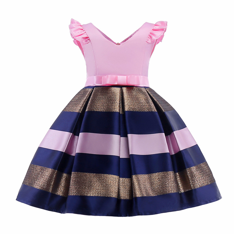 Girls Dress Summer girl floral Princess party Dresses Children clothing Wedding tutu baby girl Clothes 2 3 4 5 6 7 8 9 10 Years fashion kids baby girl dress clothes grey sweater top with dresses costume cotton children clothing girls set 2 pcs 2 7 years