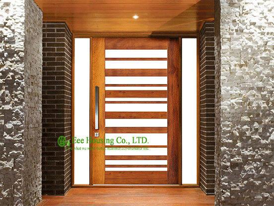 Online Shop Residential Pivot Front Door Manufactuer Modern Entry