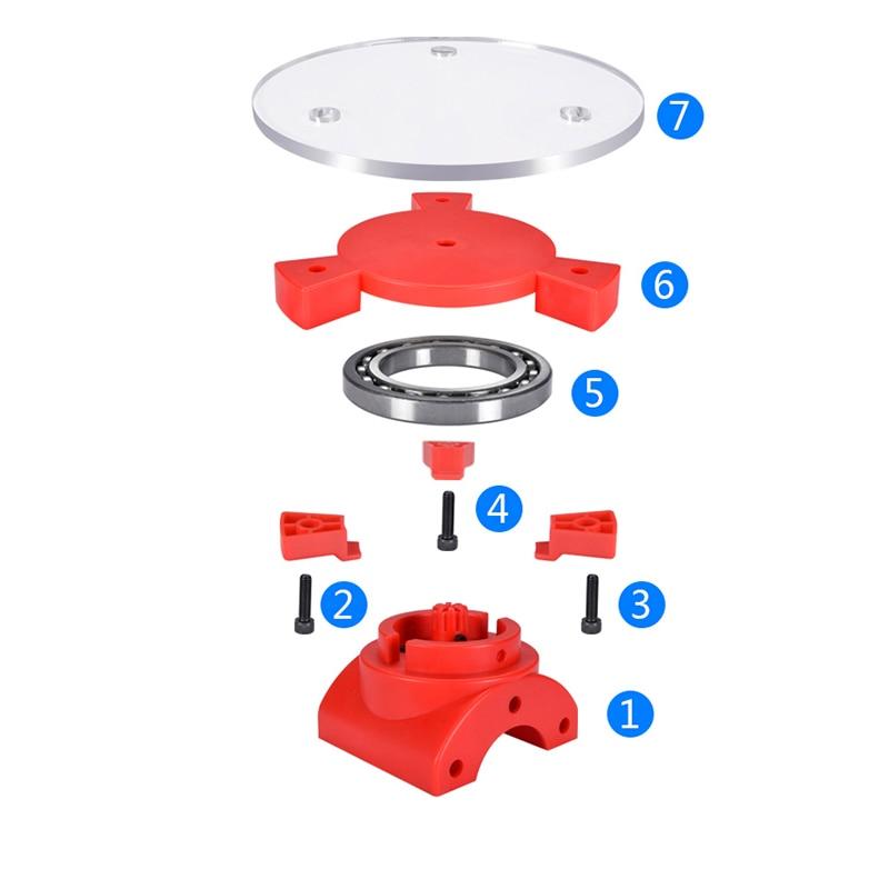 3D Scanner Laser Printer Plate Desktop Object Open Source Scanning Parts Kit