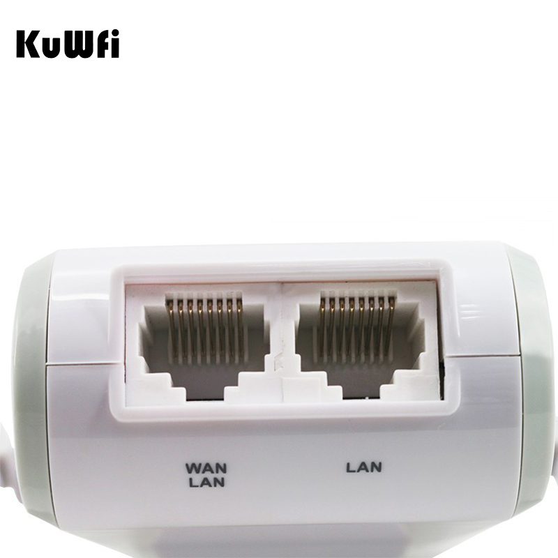 Image 4 - 300Mbps Mini Wireless Wifi Signal Booster Repeater with 2 RJ45 Port Dual Antenna With AP Repeater Router Client Bridge Modes-in Wireless Routers from Computer & Office