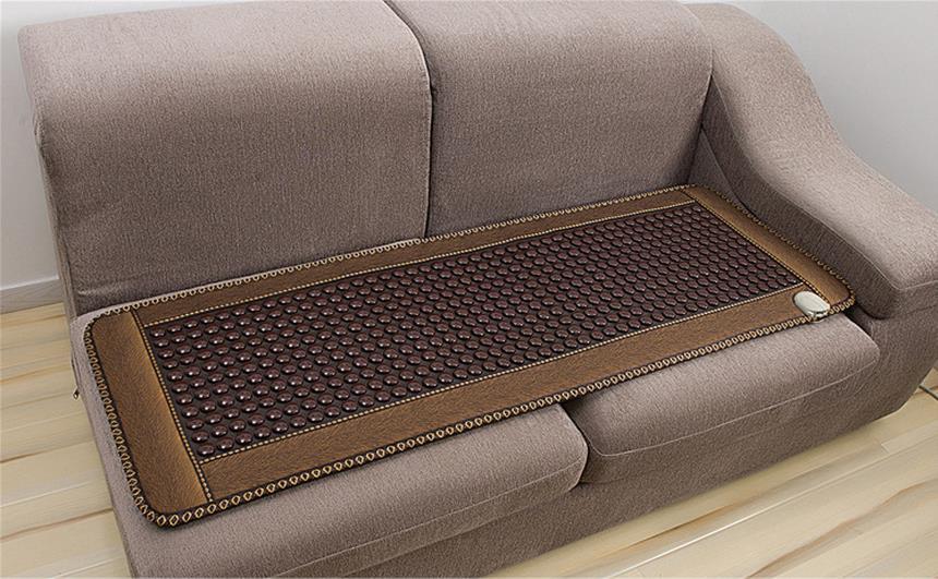 Нефритовая диванная подушка анион германиевый камень ворс кофе Отопление увлажняющий диван подушка для здоровья - 5