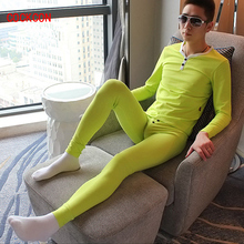 COCKCON  winter Warm Men plus cashmere leggings Leggings Tight Men Long Johns Plus Size Warm Underwear Man thermal pants