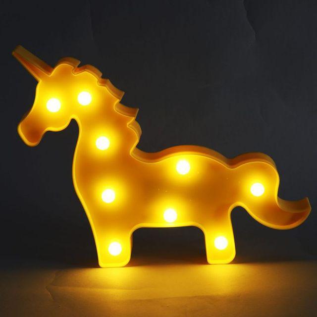 Night light star moon unicorn table lamps romantic 3d wall lamp kids night light star moon unicorn table lamps romantic 3d wall lamp kids children gift home decor aloadofball Image collections