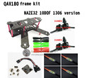 DIY FPV mini drone QAV180 / ZMR180 cross race quadcopter pure carbon frame kit NAZE32 10DOF 1306 3100KV motor BL 6A ESC OPTO