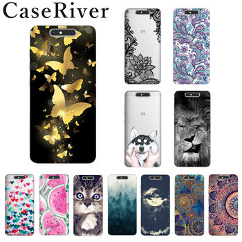 ZTE Blade V8 Case Cover TPU Soft Silicone ZTE V8 Case Colored Painting Back Protective Case For ZTE V8 Phone Cases Fudas image