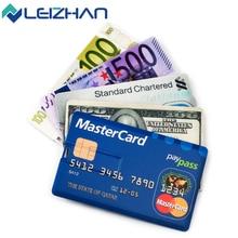 Leizhan usb flash drive tarjeta de crédito usb stick 4g 8g 16g 32G U Disco Pen Drive USB 2.0 Memoria Pendrive De Almacenamiento A Prueba de agua dispositivo
