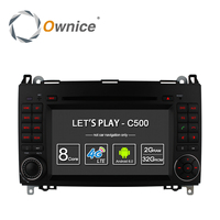 2GB RAM 1024 600 Ownice Quad CoreAndroid 4 4 CAR DVD PLAYER For Mercedes Benz B200