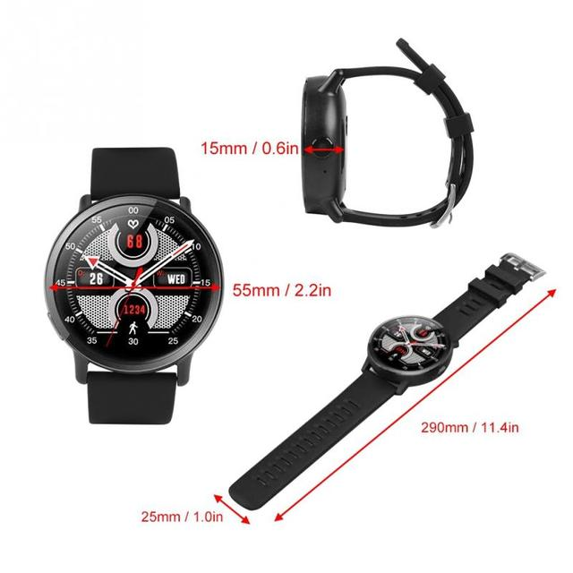 LEMFO 8MP Camera GPS Smart Watch / 4G LTE 4