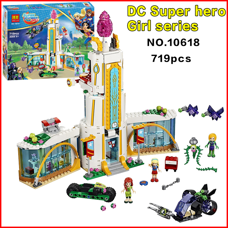 2017 DC Super Hero Girls 41232 Super Hero High School Models building blocks Assembled bricks kids Toys gift велосипед navigator super hero girls 18 разноцветный двухколёсный