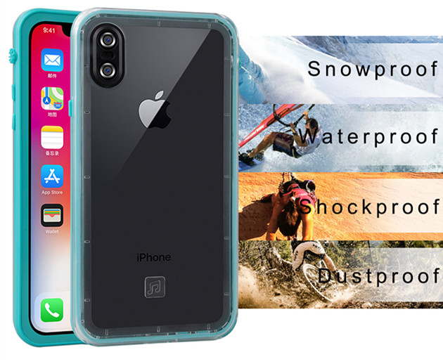 for iPhone X waterproof case (7)