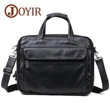 JOYIR Cow Genuine Leather Briefcases 15