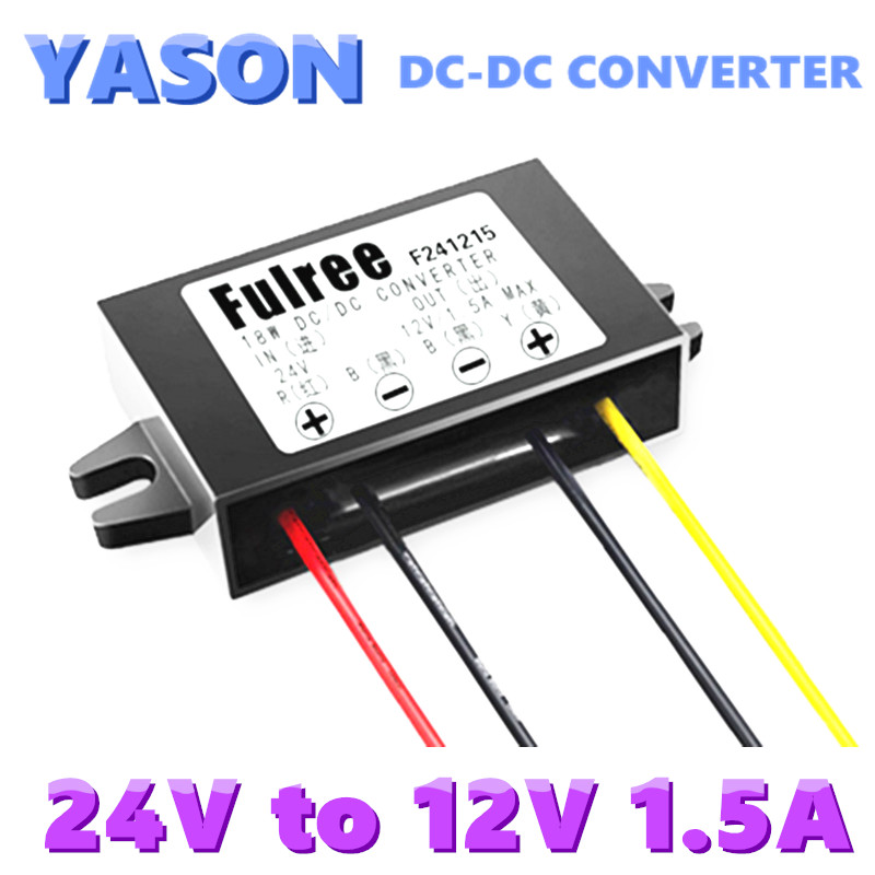 24V to 12V Car Power Converter DC-DC step-down power supply voltage converter power module step up voltage 12v dc to 24v dc 10a power converter