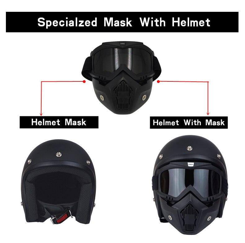 Для взрослых с открытым лицом Jet Casco moto Винтаж moto rcycle шлем moto rbike Ретро шлем скутер 3/4 полушлем capacete de moto cicleta