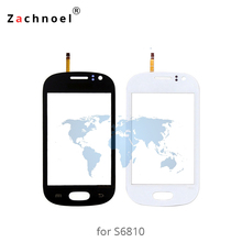3.5 Inch Touch Screen for Samsung Galaxy GT-6810 S6810 S6812 Digitizer Panel Sensor Lens Glass Mobile Phone Replacement