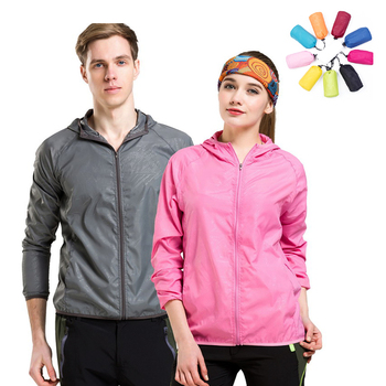 Men Women Quick Dry Hiking Jacket Waterproof Sun&UV Protection Coats Outdoor Sport Skin Jackets Summer autumn Rain Thin Jackets 1
