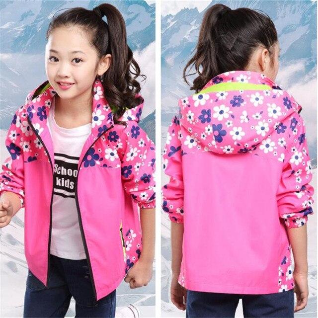 50ed1592c Children Clothing 2017 Girls Jacket Outerwear Baby Girls Coat Kids ...