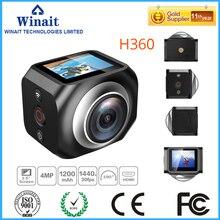 Freeshipping домашнего использования портативный действий камеры R360/H360 360VR широкоугольный объектив H.264 видеокамера с дистанционным управлением mini fotografia