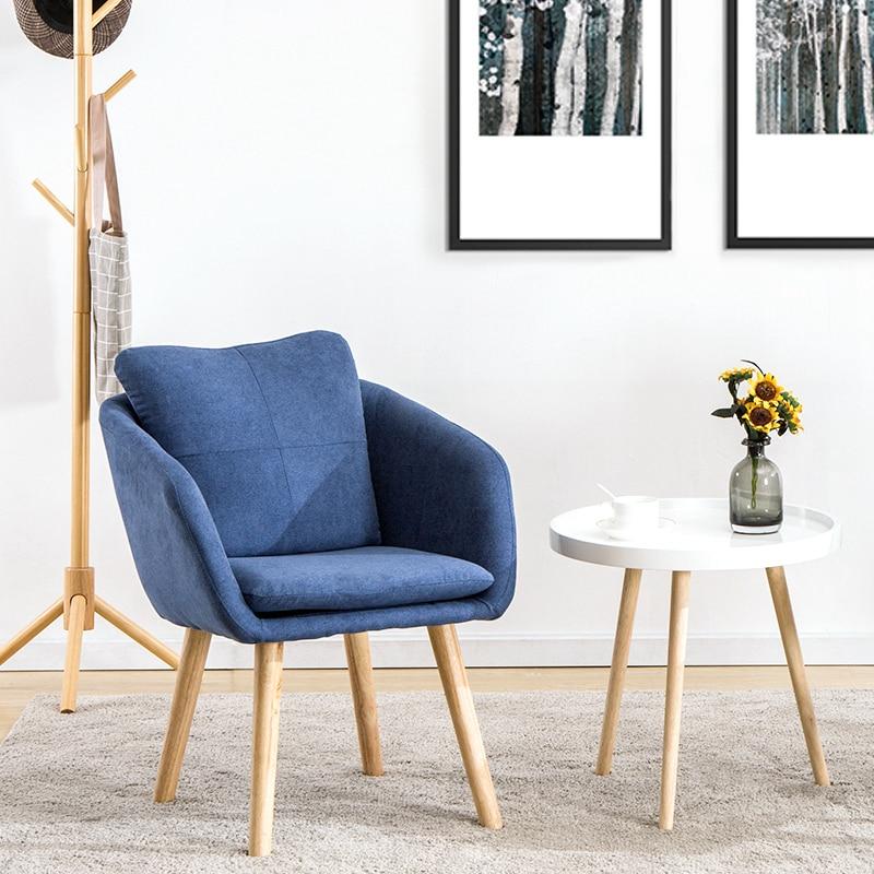 Peachy Creative Nordic Study Bedroom Office Chair Single Sofa Cjindustries Chair Design For Home Cjindustriesco