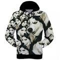S-xxl harajuku estilo 3d impresso jaquetas lobo com lua galaxy preto hoodies dos homens/mulheres 3d camisolas casuais casaco com capuz casaco